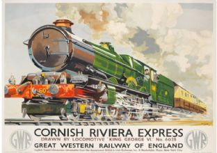 Cornish Riviera Express Train GWR